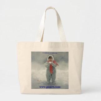Winter Angel Jumbo Tote Bag