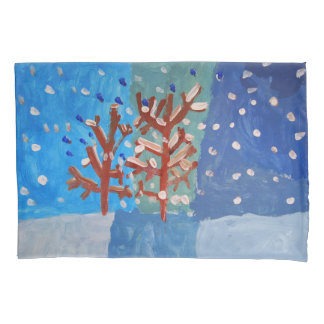 Winter - Art by Kids Pillowcase