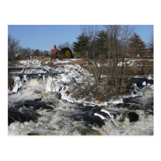 Winter at Cargill Falls Postcard
