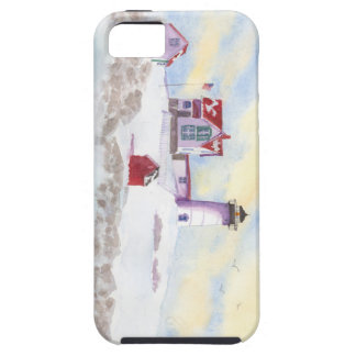 Winter at Nubble LIghthouse in Maine IPhone Case