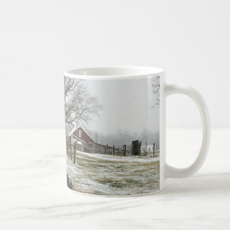 Winter at the Strawberry Farm Coffee Mug