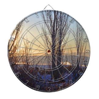 Winter At The Watering Hole Dart Boards
