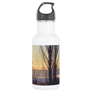Winter At The Watering Hole 532 Ml Water Bottle