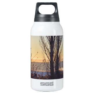 Winter At The Watering Hole 10 Oz Insulated SIGG Thermos Water Bottle
