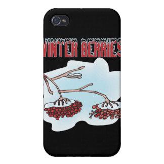 Winter Berries iPhone 4 Cases