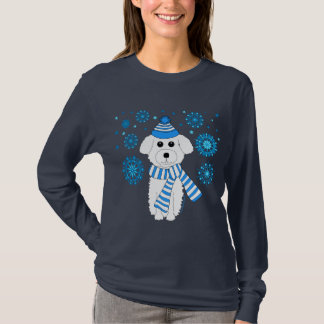 Winter Bichon T-Shirt