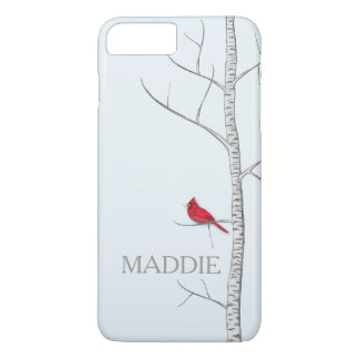 Winter Birch Tree Cell Phone Case