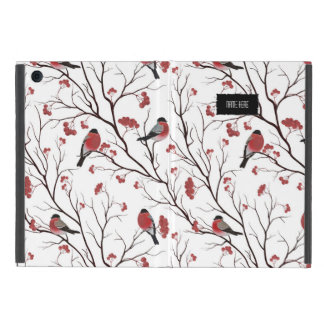 Winter Birds and Berries Cover For iPad Mini
