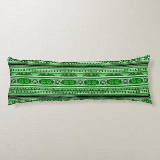 Winter Bliss Green Body Cushion