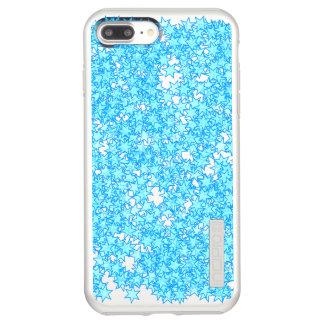 Winter Blue Stars Pastel Kawaii Incipio DualPro Shine iPhone 8 Plus/7 Plus Case