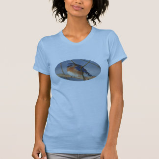 Winter Bluebird Animal T-Shirt