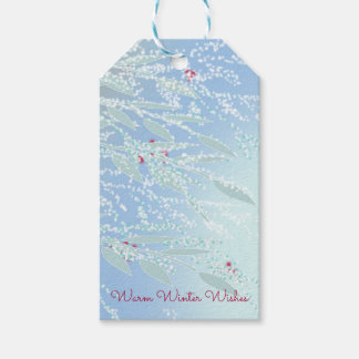 Winter Branches Gift Tag