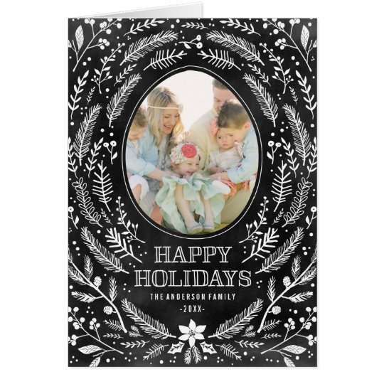 Winter Branches   Holiday Photo Card