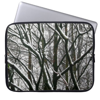 Winter Branches Laptop Computer Sleeves