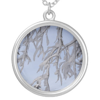 Winter branches necklace