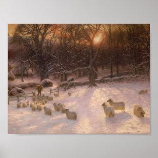 Winter Breakfast , Joseph Farquharson Poster