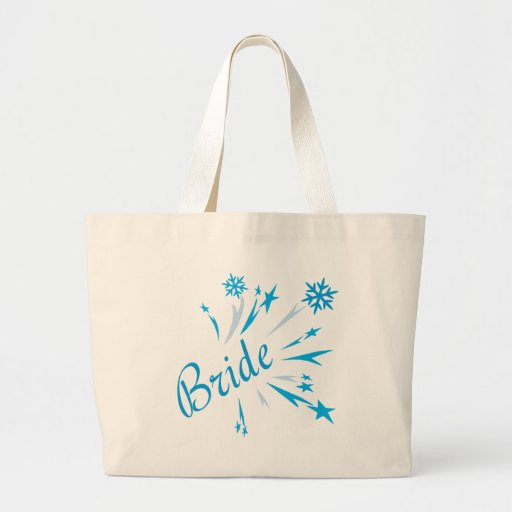 Winter Bride Tees and Gifts Tote Bags