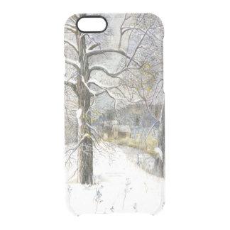 winter bridge clear iPhone 6/6S case