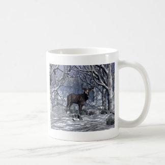 Winter Buck Coffee Mug
