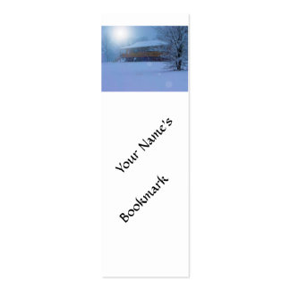 Winter Buildings Pack Of Skinny Business Cards