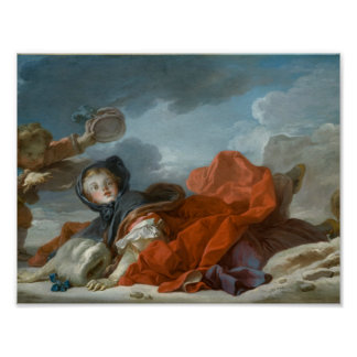 Winter by Jean-Honore Fragonard Poster