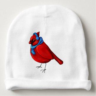 Winter Cardinal Baby Beanie