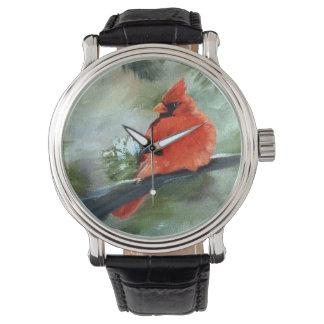 Winter Cardinal Watch