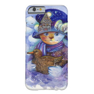 Winter cat barely there iPhone 6 case