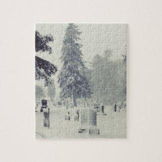 Winter Cemetery Puzzle