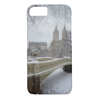 Winter - Central Park - New York City iPhone 7 Case