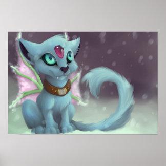 Winter Chibi Tag Poster