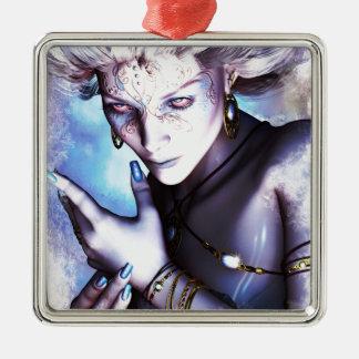 Winter Chill Metal Ornament