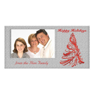 Winter Christmas Photo Card