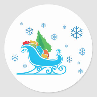 Winter Christmas Stickers