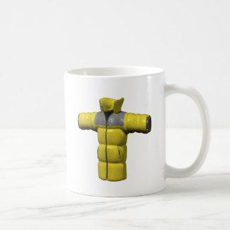 Winter Coat Yellow Mug