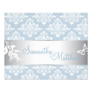 Winter Damask Directions Card 2