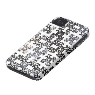 Winter Damask Forest Brook iPhone 4 Covers