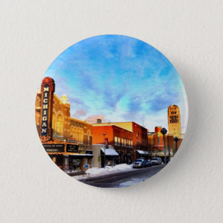Winter Day In Ann Arbor 6 Cm Round Badge