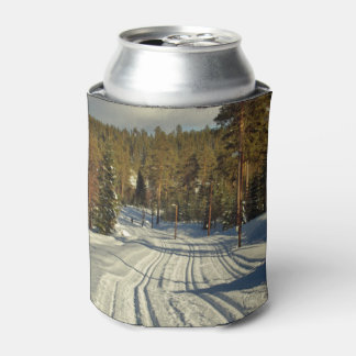 Winter day in Sweden Can Cooler