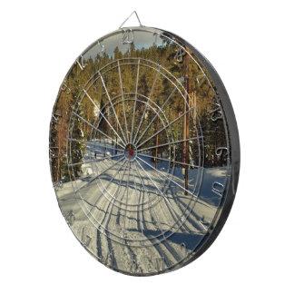 Winter day in Sweden Dartboard