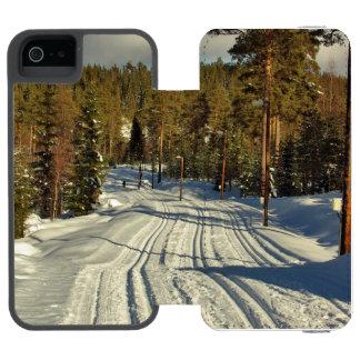 Winter day in Sweden Incipio Watson™ iPhone 5 Wallet Case