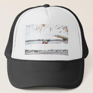 Winter Duck Trucker Hat