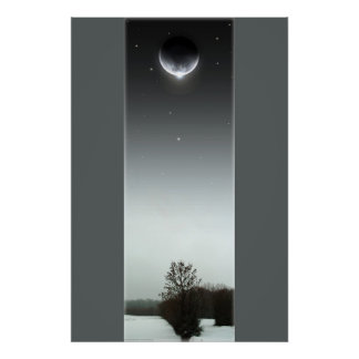 Winter Eclipse III Poster