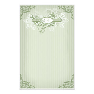 Winter Elegance - Customize Stationery