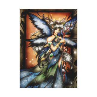 Winter Fairy Canvas Print