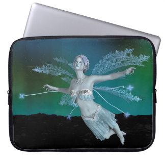 Winter Fairy Laptop Sleeve