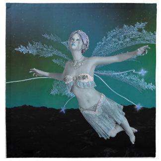 Winter Fairy Napkin