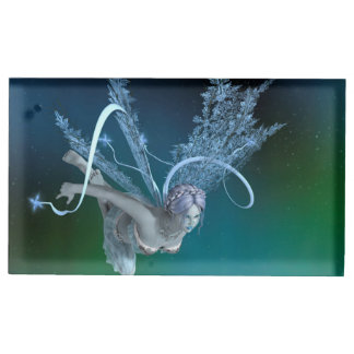 Winter Fairy Place Card Holder