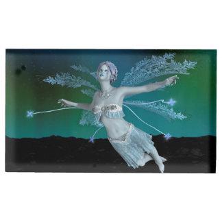 Winter Fairy Table Card Holder