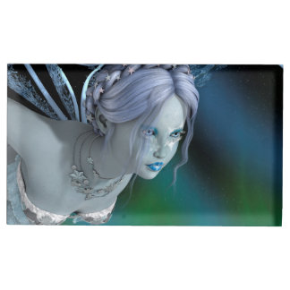 Winter Fairy Table Number Holder